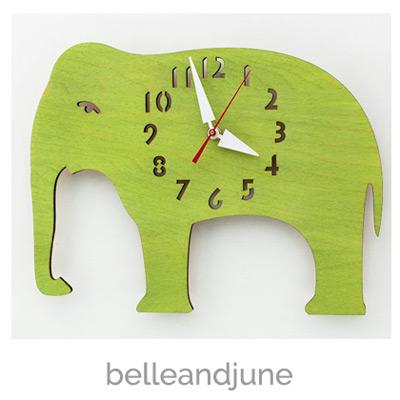 elephant-clock