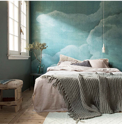 Graham Brown Abstract Cloud Wall Mural Wallpaper Myhome Apartment